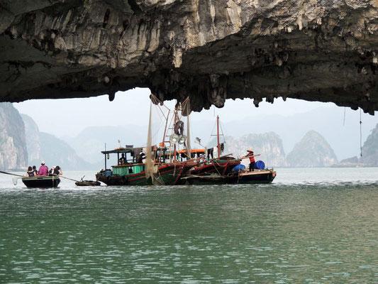 Pequeño poblado de pescadores
