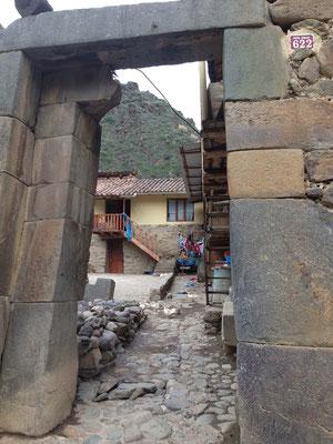 Puerta en Ollantaytambo