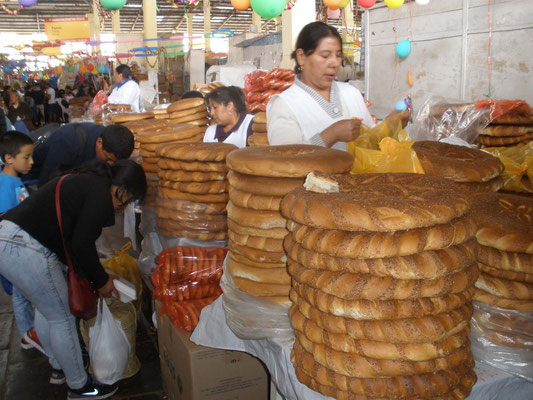 Panaderas del mercado de San Pedro