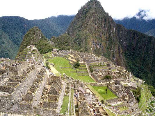 El mítico Machu Pichu