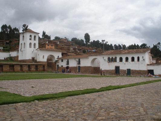 Plaza de Armas de Chinchero