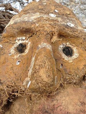 Mascara de Sarcofago caido
