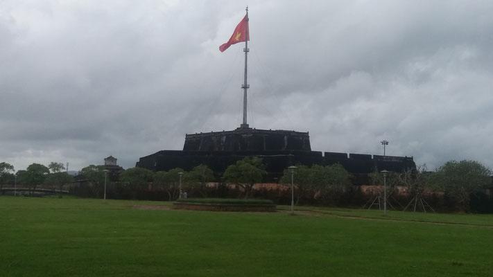 Bandera en Hue