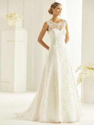 A-Linie Brautkleid aus hochwertiger Spitze