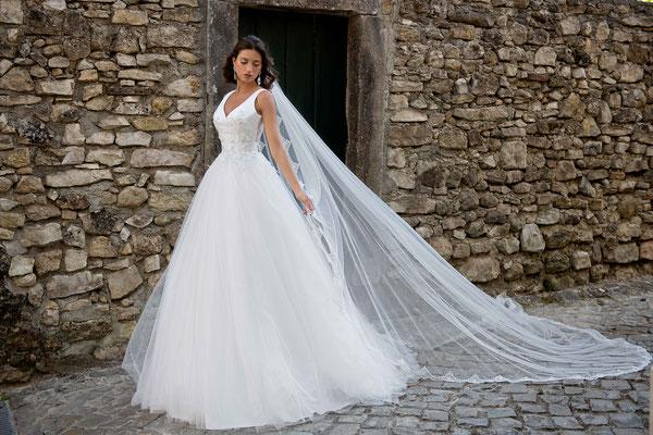 Brautkleid Brautmode Kollektion für 2022 Sancarda Hochzeitsmode Coburg