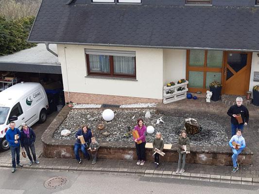 Osterklappern 2021, Mühlenstraße/Karlof