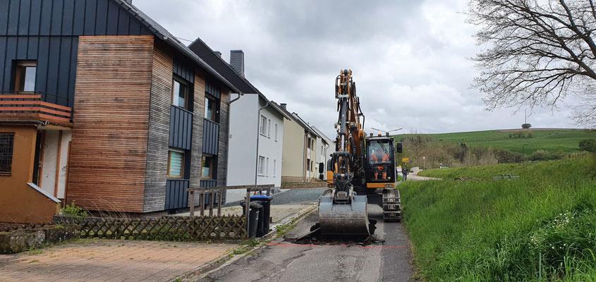 Baubeginn 06.05.2021