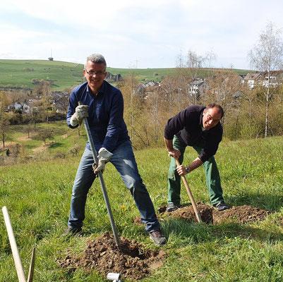 Jürgen Pauli und Damian Marx