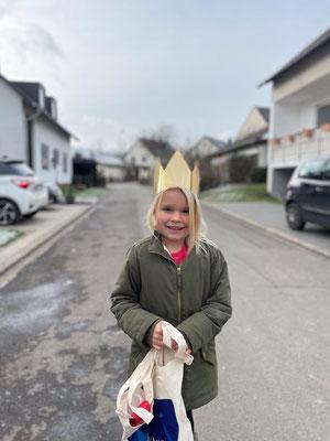 Sternsingeraktion Korlingen 2021 - Segen bringen, Segen sein!