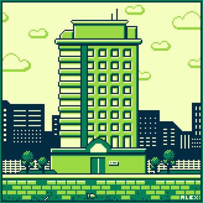 Pixel Building 1