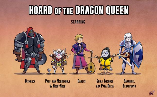 The legendary cast of HotDQ