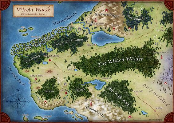 V'Irola Waesk, die unberührten Lande