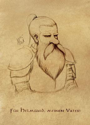 Helmgrim Porträt