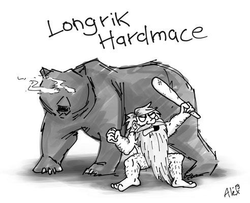LOOOONNGRRRIIIIIIIK HAAAARRDMAAAAACEE!!!!!! und sein Spirit Animal Ursus Noctus
