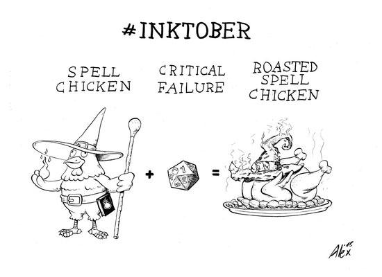 #roasted #spell #chicken
