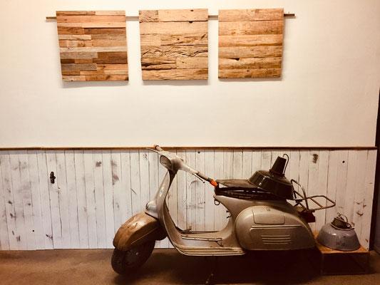 Wandverkleidung Garage : Eindrücke alt holz garage wandverkleidung wohnaccessoires