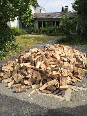 Höchste Qualität beim Brennholz - Hug Brennholz - Ihr Brennholzservice im Mittelland.
