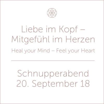 Liebe im Kopf – Mitgefühl im Herzen