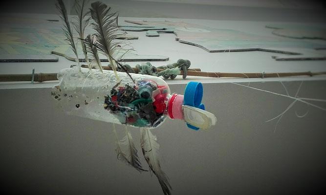 Pajaro, COUP, Taller Creativo, IES Tias, Art, Arte, Cleaner Ocean Upcycling Productions, Lanzarote