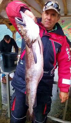 Kann man sich an reichlich Fisch anstecken