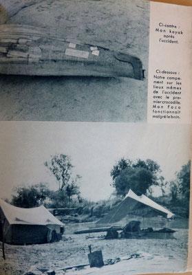 PATRY, En kayak du Gabon au Mozambique, Julliard, 1954 (la Bibli du Canoe)