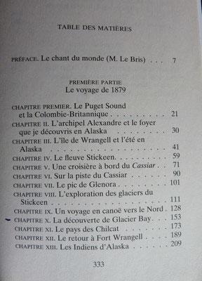 MUIR, Voyages en Alaska, Payot et rivages, 2009 (la Bibli du Canoe)