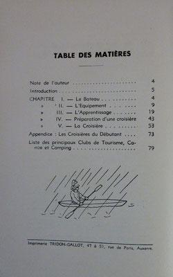 RAVEN-HART, Je fais du canoë, Radio, 1938 (la Bibli du Canoe)