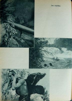 ANDRIEU, En canots sur les traces de Marquette, Julliard, 1954 (la Bibli du Canoe)