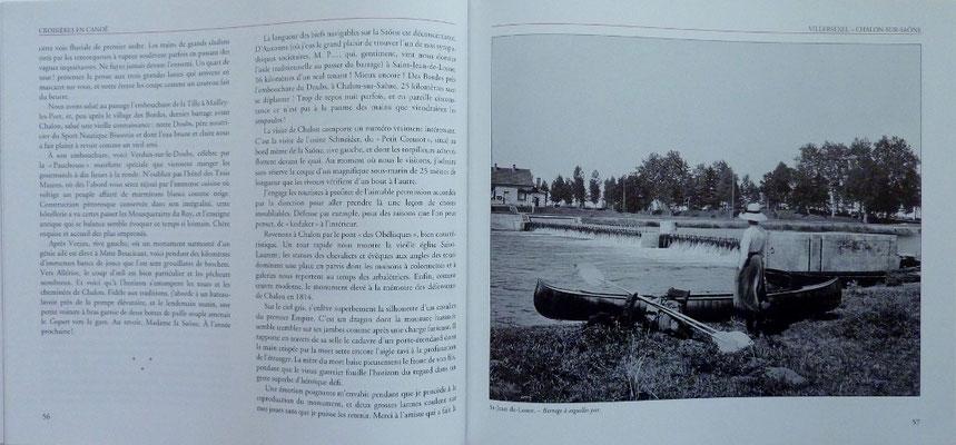 SEXE, Croisières en canoë 1908 - 1912, 2000 (la Bibli du Canoe)