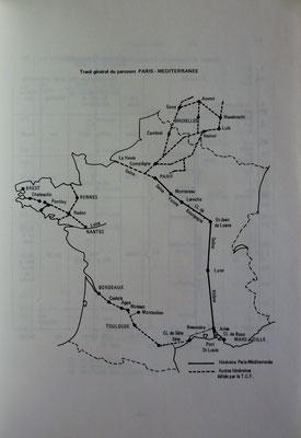 TOURING CLUB DE FRANCE, Itinéraire nautique Paris-Méditerranée, TCF, 1968 (la Bibli du Canoe)