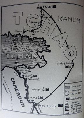 BOUQUANT & MAHUZIER, Aventures au Tchad - En kayaks sur le Chari et le Tchad, 1949 (la Bibli du Canoe)