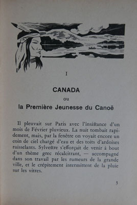 JAULGONNE, Ho! du canoë, 1947 (La Bibli du Canoë)