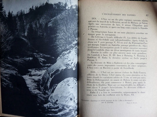 MATHERON, L'enchantement des rapides, Jusse, 1944 (la Bibli du Canoe)