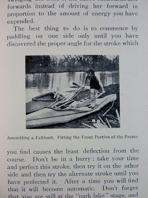 ELLIS, Canoeing for Beginners, 1936 (la Bibli du Canoe)