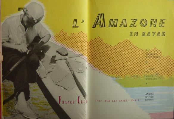 RITTLINGER, L'Amazone en kayak, André Bonne, 1957 (la Bibli du Canoe)