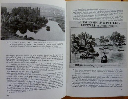 RIOUSSET, Les bords de Marne de Lagny à Charenton, 1984 (la Bibli du Canoe)