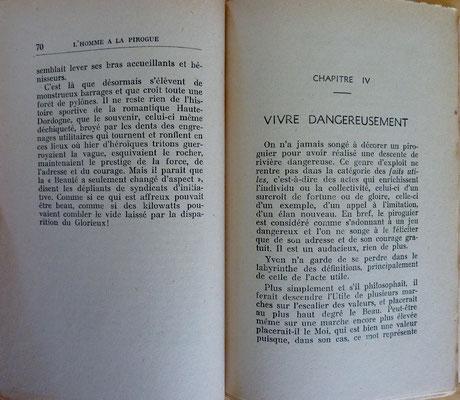 DE LA TOMBELLE, L'homme à la pirogue, 1934 (la Biblbi du Canoe)