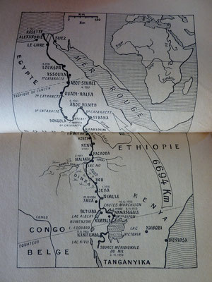 DAVY, Le Nil - première descente en kayak, 1957 (la Bibli du Canoe)
