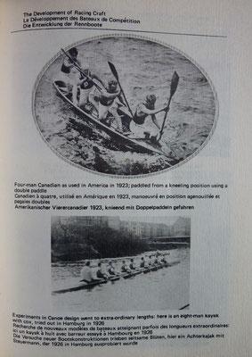 VESPER, 50 années de la Fédération Internationale de Canoë, 1974 ? (la Bibli du Canoe)