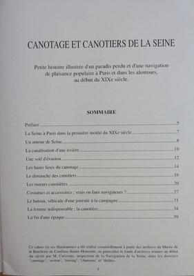 DELAIVE, Canotage et canotiers de la Seine, 1991 (la Bibli du Canoë)