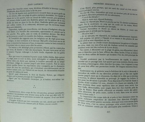 LAPORTE, 1ère descente du Nil, 1971 (la Bibli du Canoe)