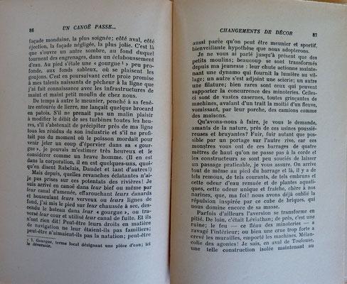 GAUBERT, Un canoë passe... , 1946 (la Bibli du Canoe)