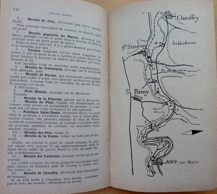 FÉDÉRATION FRANÇAISE DE CANOË, Guide Nautique de la région parisienne, Revue Camping, 1934 (?) (la Bibli du Canoe)