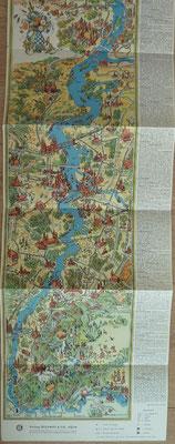 GLEUMES & CO, Le Rhin du lac de Constance à la mer du nord, 195? (la Bibli du Canoe)