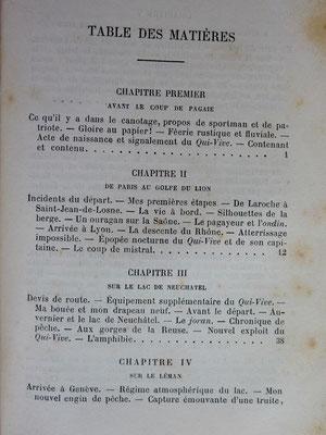 """De WOGAN, Voyages du canot en papier le """"Qui-Vive"""", 1887 (la Bibli du Canoe)"""