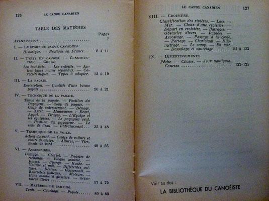 MATHERON, Le canoë canadien, 1932 (la Bibli du Canoe)