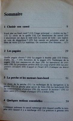 ANGIER & TAYLOR, Le guide marabout du canoë, 1975 (la Bibli du Canoe)