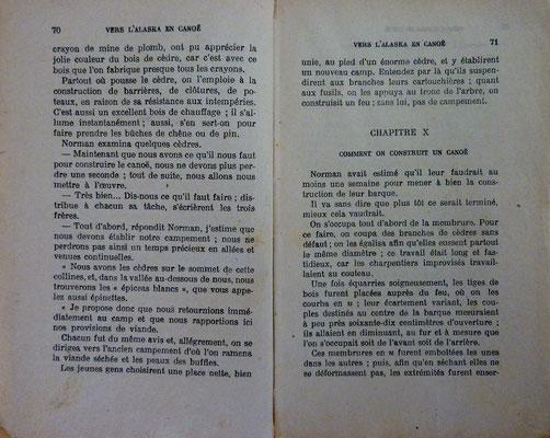MAYNE-REID, Vers l'Alaska en canoë, 1929 (la Bibli du Canoe)