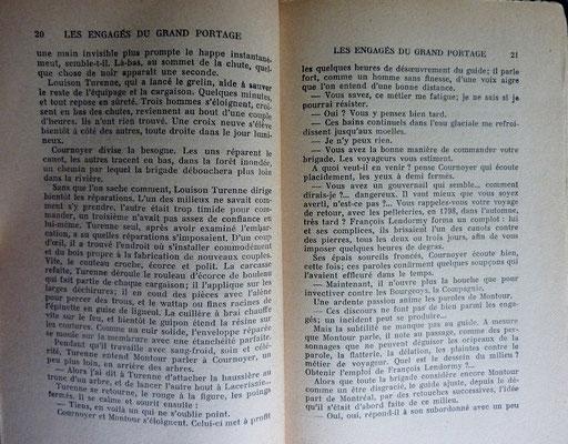 DESROSIERS, Les engagés du Grand Portage, 1938 (la Bibli du Canoe)