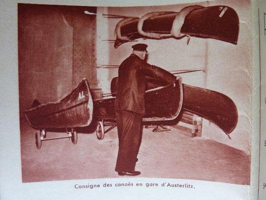 SNCF, Canoëisme en France, SNCF, 1939 (la Bibli du Canoe)